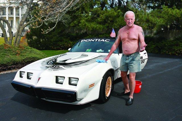 Le vice-président des États-Unis, Joe Biden, est peu connu hors des ... (Photomontage The Onion)