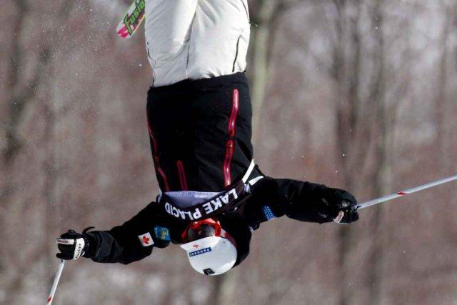 Le skieur acrobatique Philippe Marquis... (Le Soleil)