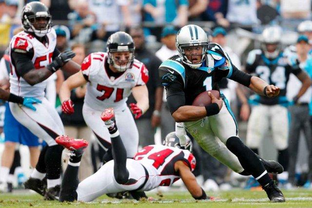 La défensive des Falcons a connu des ratés... (AP)