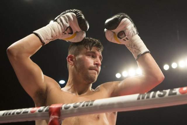 David Lemieux... (PHOTO ANDRÉ PICHETTE, LA PRESSE)