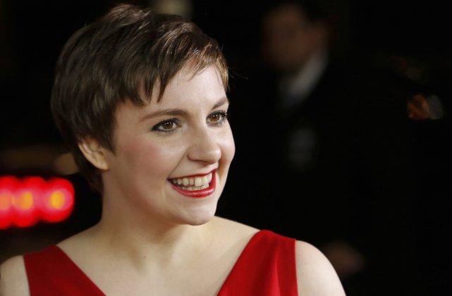 Lena Dunham, qui écrit, réalise la série Girls.... (Photo: Reuters)