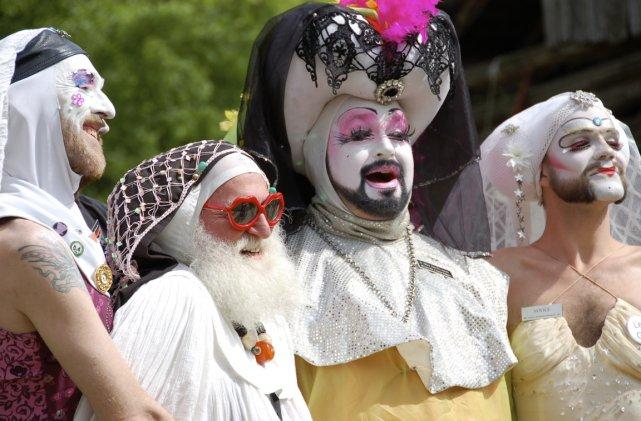 Composée en majorité d'hommes gais, la congrégation des... (Photo fournie par films 3 mars)