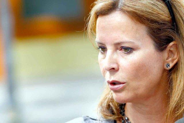 Anne Guérette a rencontré David Lemelin, samedi, pour... (Photothèque Le Soleil, Yan Doublet)