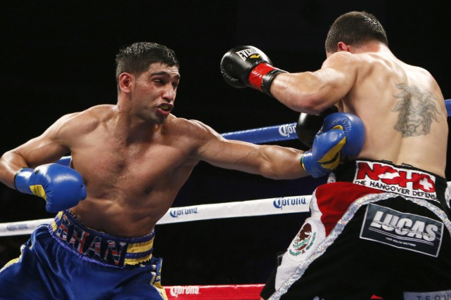 Amir Khan... (Photo Lucy Nicholson, archives Reuters)