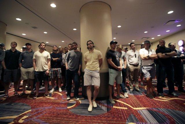 Selon plusieurs sources, les joueurs de la LNH... (Photo: AP)