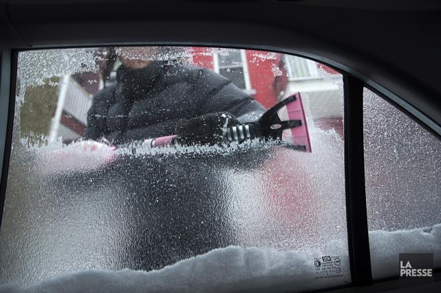 Lundi, le système déferlera sur le Québec, où... (Photo: Ivanoh Demers, La Presse)