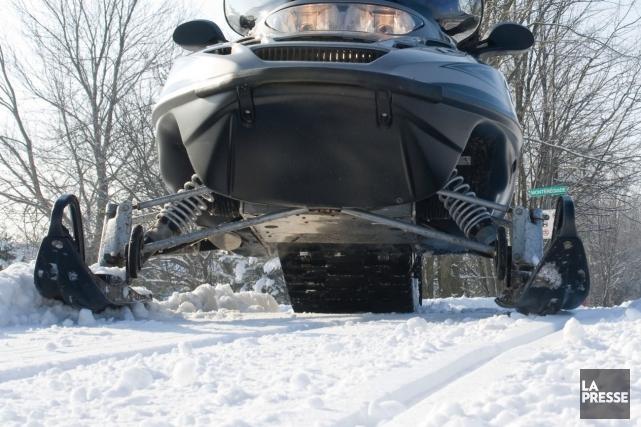 Les motoneigistes qui fréquentent le sentier de la Trans-Québec 5  n'auront... (Photo archives)