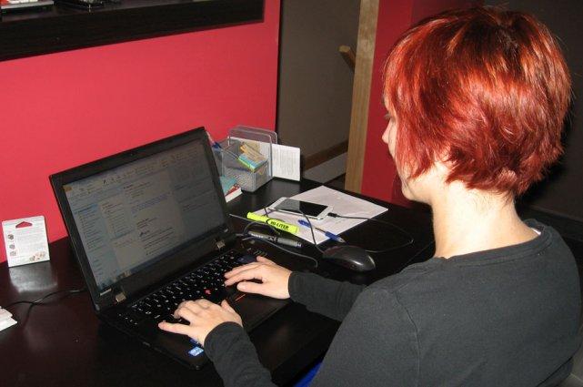 Anabel Beaudry Sarazin, agente de développement jeunesse au... (Jessy Laflamme, LeDroit)