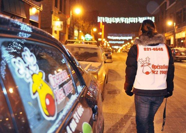 Les bénévoles d'Opération Nez rouge n'ont pas eu de répit le 23 décembre. À... (Archives)