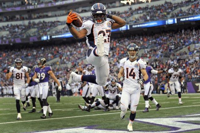 Les Broncos de Denver ont battu les Ravens... (Photo: AP)