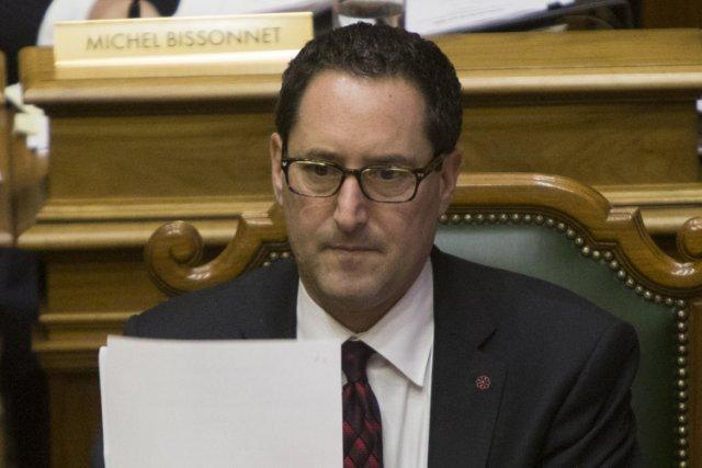 Michael Applebaum au conseil municipal, lundi après-midi.... (Photo: André Pichette, La Presse)