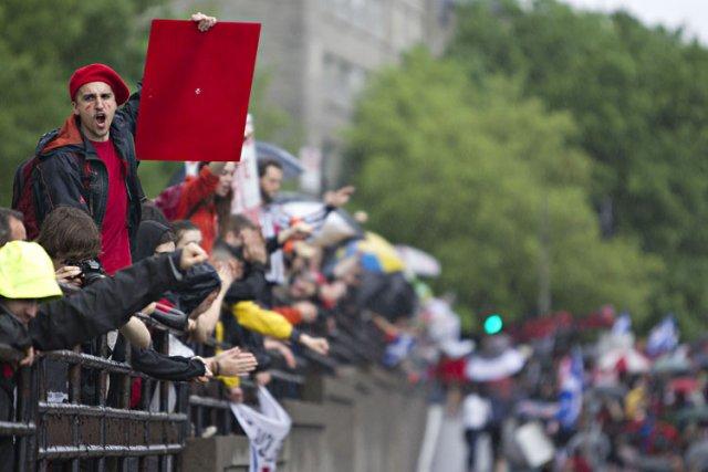 Les acteurs du «printemps érable» ont eu de... (Photo: Alain Roberge, La Presse)