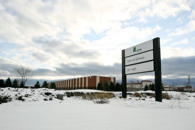 L'usine de Produits forestiers Résolu de Gatineau sera... (Patrick Woodbury, LeDroit)