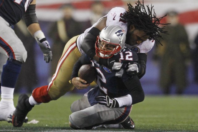 Les 49ers de San Francisco ont infligé une... (Photo: Reuters)
