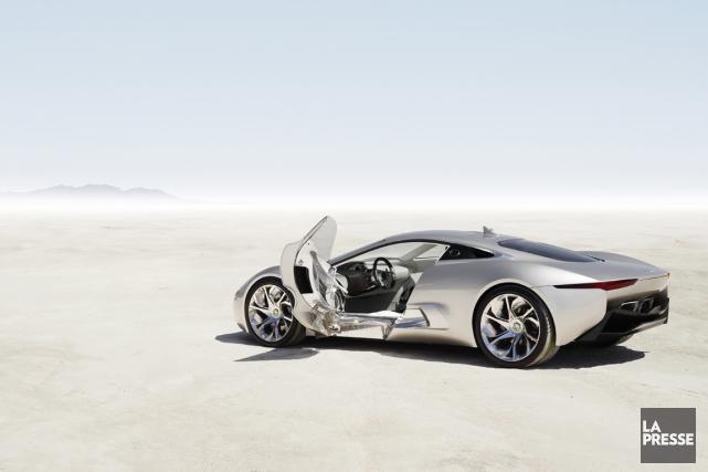 Trois prototypes seront vendus aux enchères. Jaguar affirme... (Photo fournie par Jaguar)