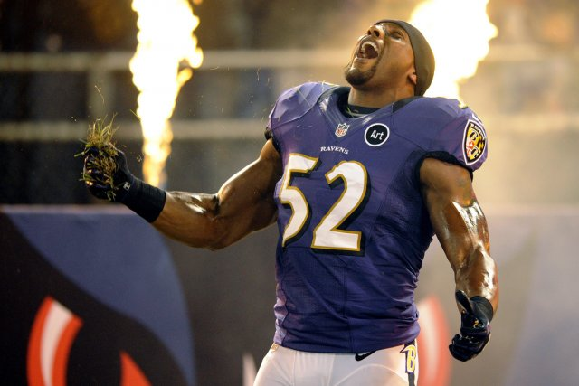 Ray Lewis... (Photo: AP)
