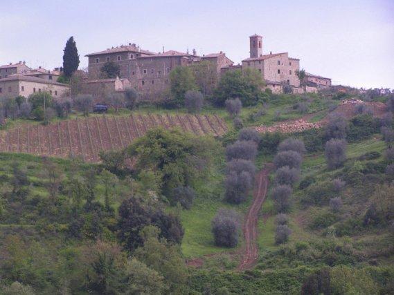 Le châteauBrunello de Montalcino, en Toscane.... (PHOTO ARCHIVES LA PRESSE)