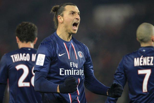 Zlatan Ibrahimovic s'impose sur les terrains... et dans... (Photo: Reuters)
