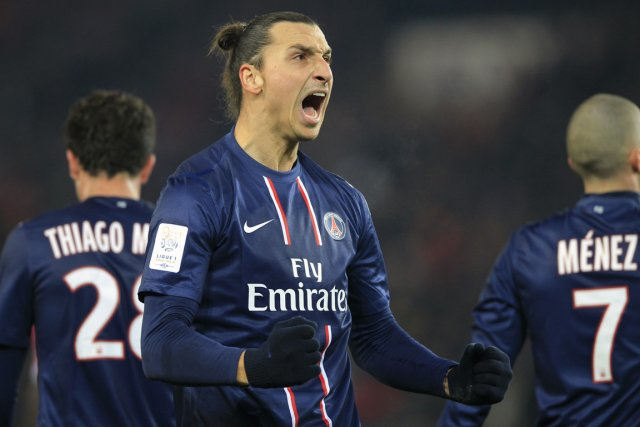 Zlatan Ibrahimovic... (Photo: Reuters)