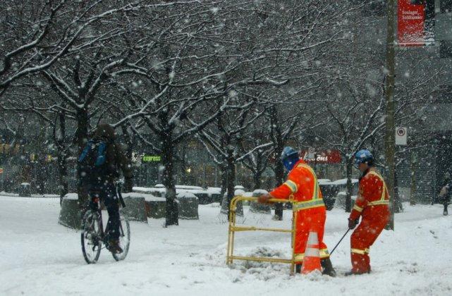 Depuis le 15 novembre dernier, Montréal a reçu... (Photo Martin Chamberland, La Presse)