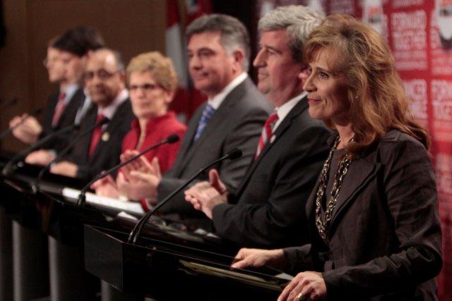 Les sept candidats à la chefferie du Parti... (Étienne Ranger, LeDroit)