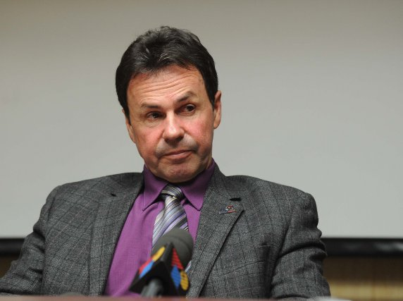Le maire de Shawinigan, Michel Angers.... (Photo: Sylvain Mayer)