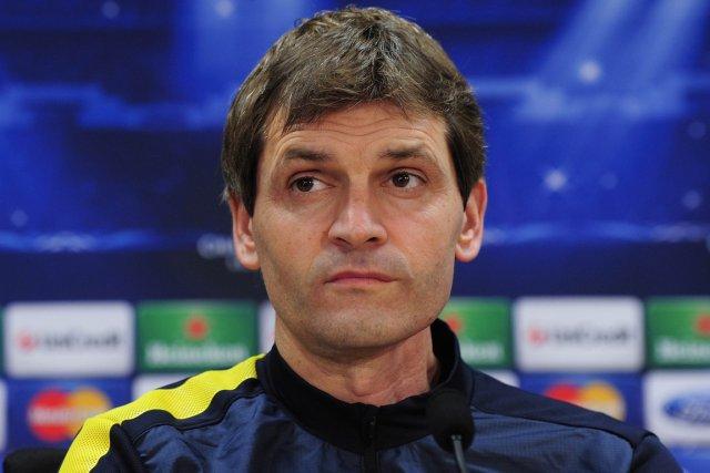 L'entraîneur du FC Barcelone, Tito Vilanova.... (Photo: AFP)