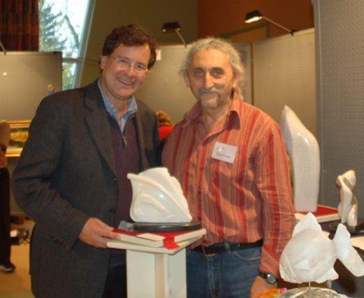 Le sculpteur Özgen Eryasa a réalisé une pièce en 2012 intitulée Vague de... (Photo courtoisie)