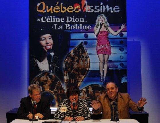 Producteur du spectacle «De Céline Dion...à la Bolduc»,... (Photo Le Nouvelliste)