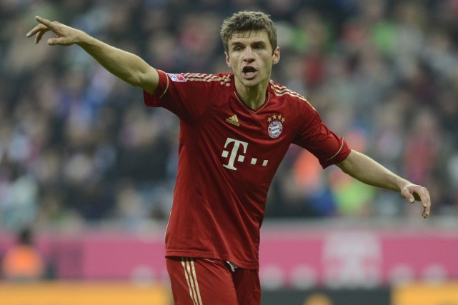 Thomas Müller... (Photo: AFP)