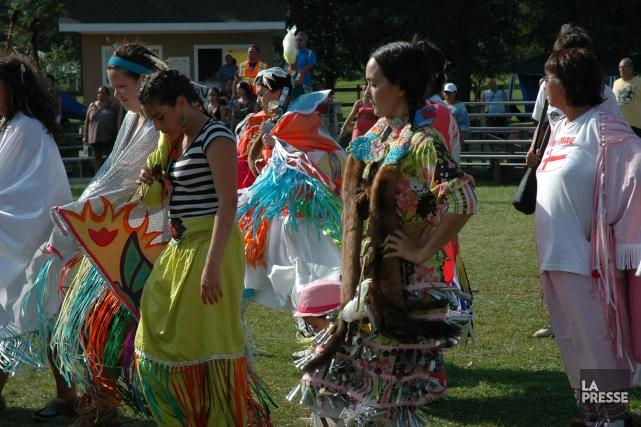 Au Canada, les autochtones parqués dans des réserves... (Photo courtoisie Michel Gourd)
