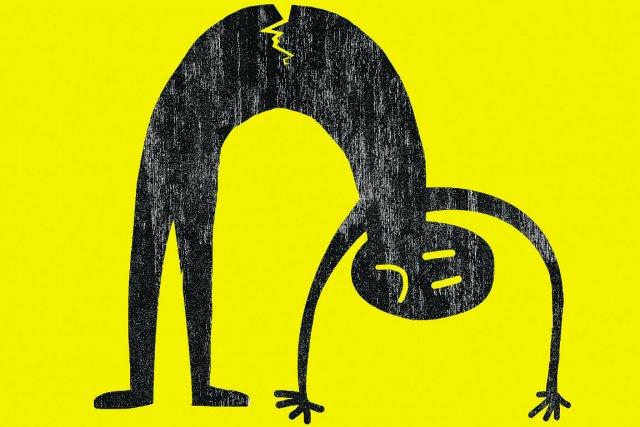 Qui n'a jamais eu mal au dos au moins une fois ? Imprévisible, pénible et... (Illustration La Presse)