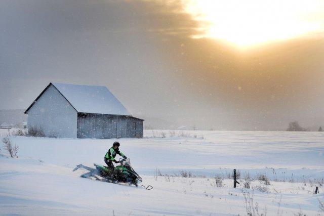 Dur coup pour les motoneigistes de la Petite-Nation:... (Le Quotidien)