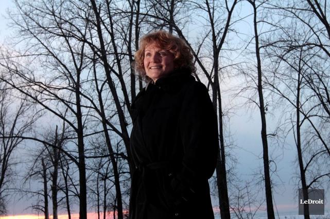Karen McCrimmon, sixième candidate officielle de la course... (Étienne Ranger, Archives LeDroit)