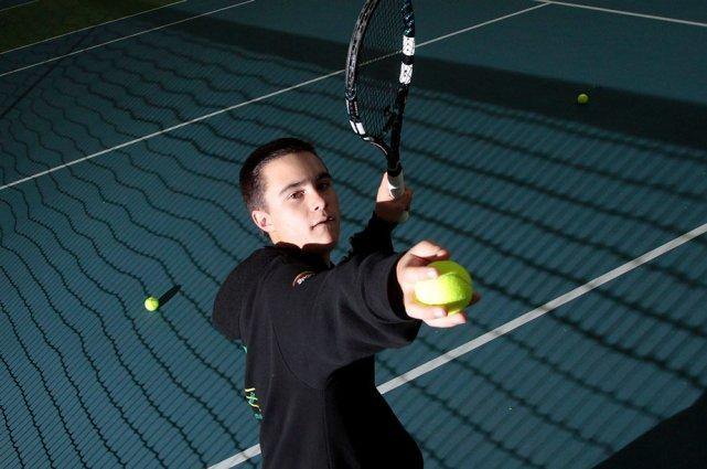 Lors d'un tournoi à Mont Saint-Hilaire, Tristan Houle... (Étienne Ranger, LeDroit)