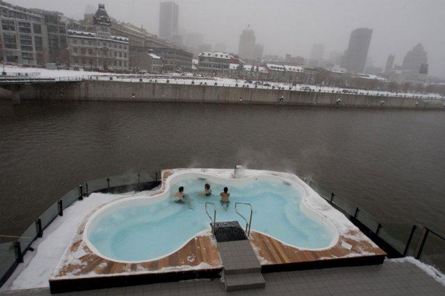 Bota Bota spa-sur-l'eau, dans le Vieux-Montréal.... (Photo Ivanoh Demers, La Presse)