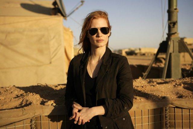Jessica Chastain dans une scène de Zero Dark... (Photo: fournie par Columbia Pictures)