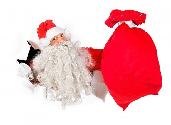 Le père Noël, loin d'être néfaste, stimule l'imaginaire... (Photo d'archives)