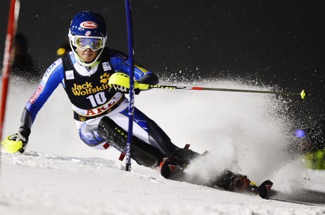 Mikaela Shiffrin... (Photo AFP)