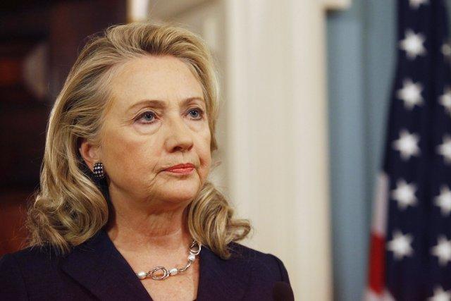 La secrétaire d'État américaine Hillary Clinton.... (PHOTO GARY CAMERON, ARCHIVES REUTERS)