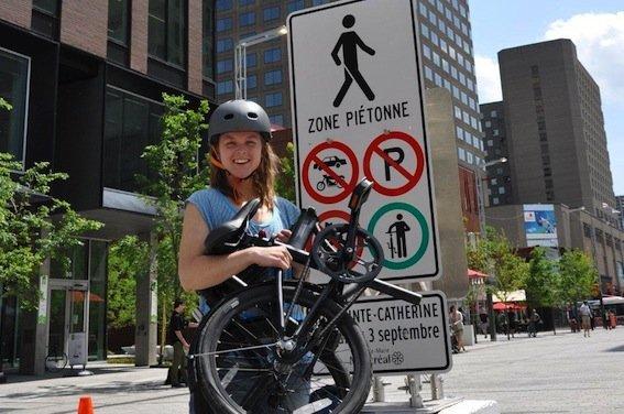 Devons-nous vraiment rappeler que tous les cyclistes ne... (Photo fournie par l'auteure)