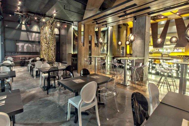 Aménagé par Steve Girard Designer, le restaurant Chez... (Photo fournie par les Grands prix du design)