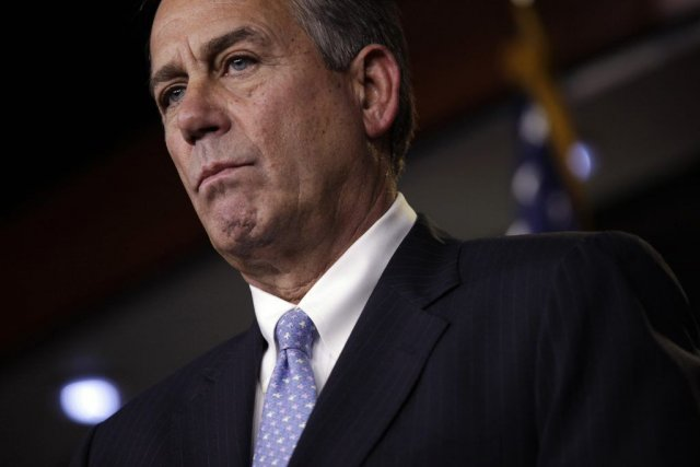 Le président de la Chambre des représentants, le... (Photo Reuters, YURI GRIPAS)