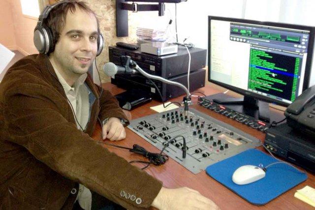 Stéphane Martin est animateur bénévole à la station... (Collaboration spéciale Marc Larouche)