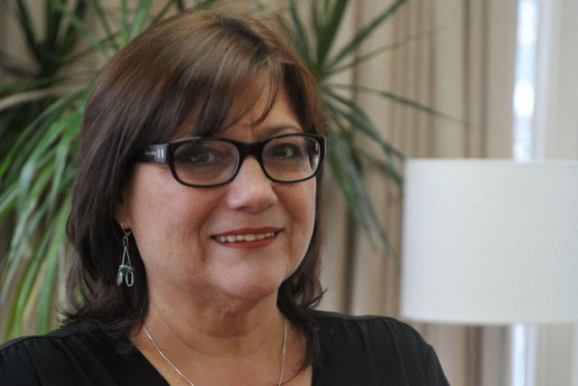 Sylvie Biscaro est directrice générale du Centre d'aide... (Photo: Stéphane Lessard)