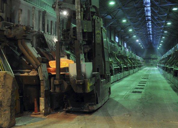 Les travailleurs du Syndicat national des employés de l'aluminium d'Arvida... (Photo Rocket Lavoie)