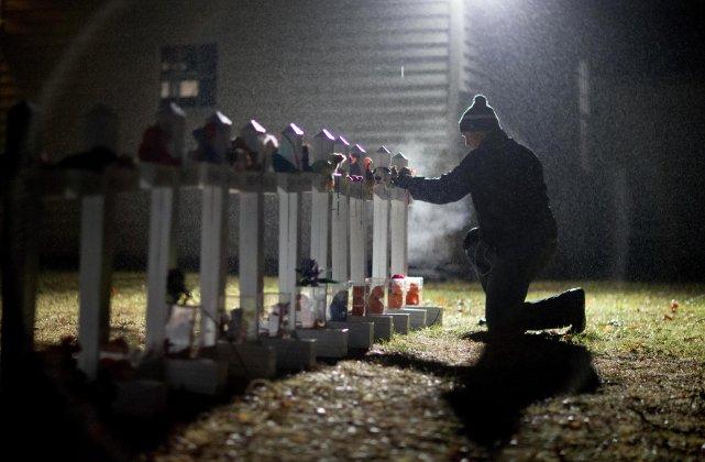 Je ne suis pas une citoyenne américaine, mais à la suite de la fusillade à... (Photo AP)