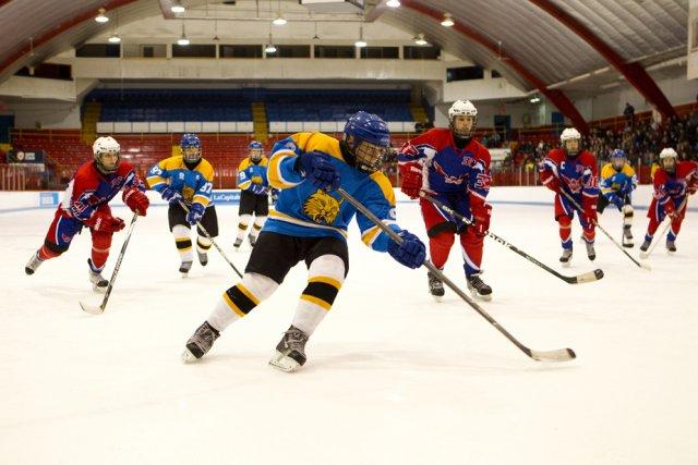 Les scènes d'action sur la glace occupent une... (Photo Films Séville)