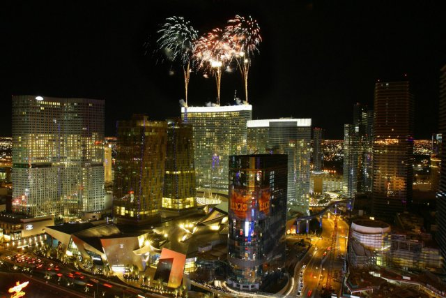 Las Vegas en fête.... (Photo: AP)