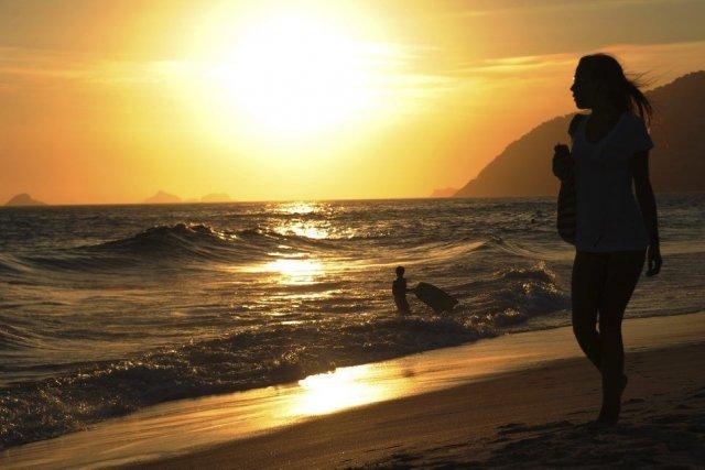 Une plage d'Ipanema, à Rio de Janeiro, au... (VANDERLEIALMEIDA)